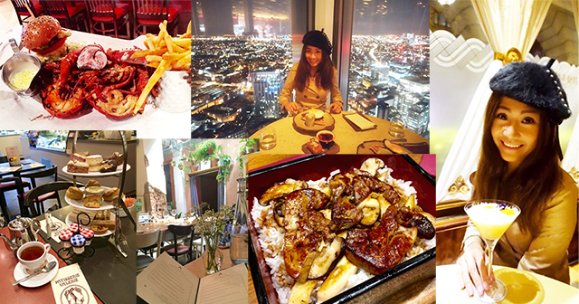 So Japanese,Burger and Lobster,The Ritz Hotel,Pachamama,Patisserie Valerie,Duck and Waffle,倫敦,美食