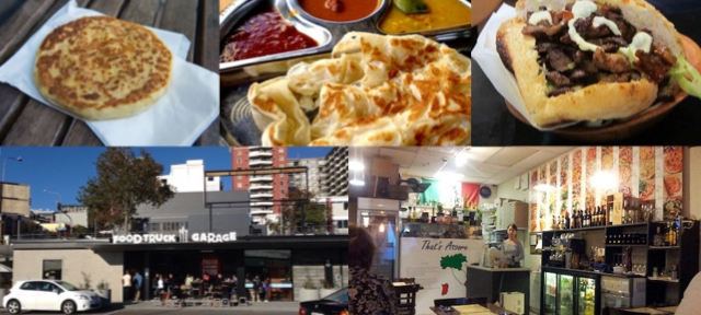 紐西蘭自由行,奧克蘭自由行,Mamak Malaysian,Food Truck Garage,Middle East Cafe,No.1 Pancake,That's Amore,美食