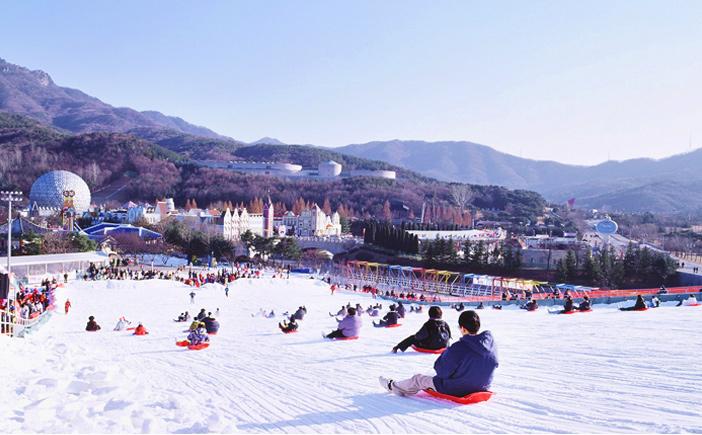 首爾樂園雪橇場