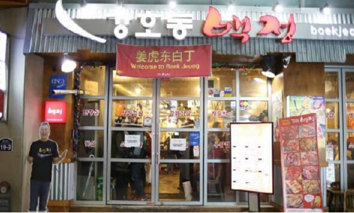 薑虎東烤肉店