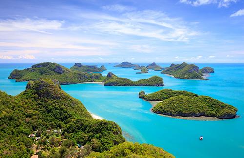 紅統群島國立公園Mu Ko Ang Thong National Marine Park