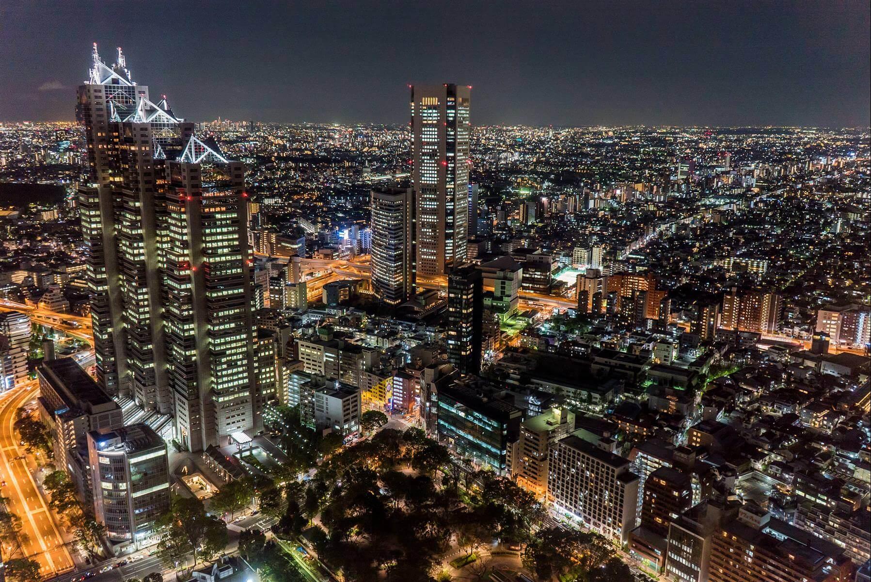 東京五大精選夜景展望台