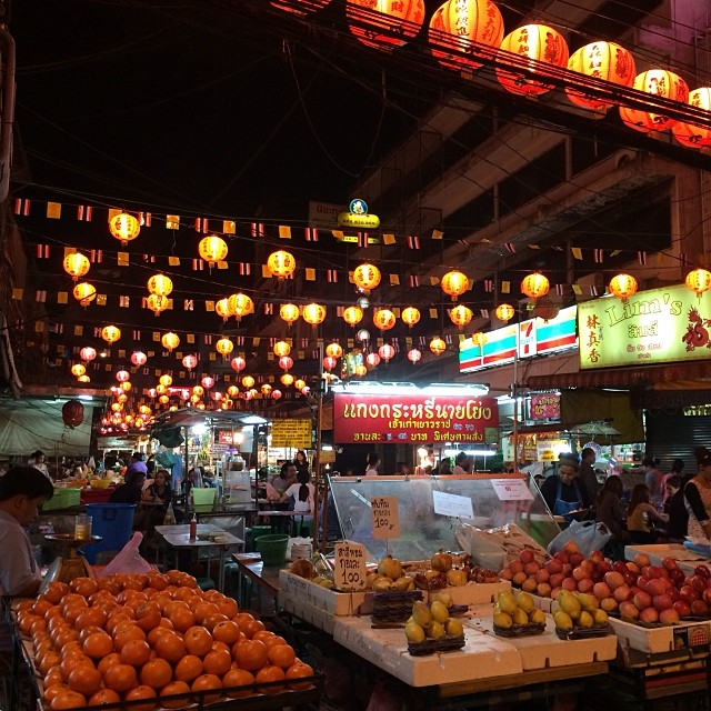 Khlongtom Night Market
